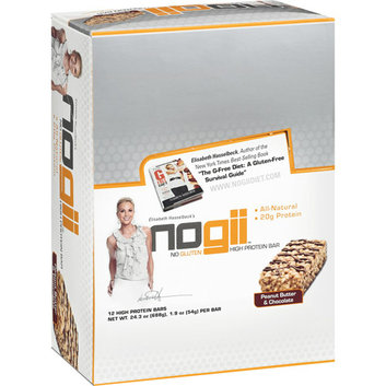 Nogii Elisabeth Hasselbeck's Peanut Butter & Chocolate High Protein Bars