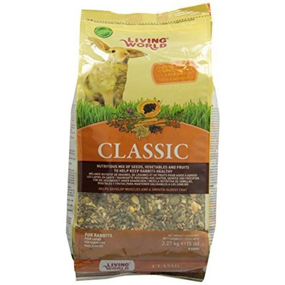 Living World Classic Rabbit Food, 5-Pound