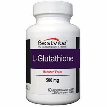 L-Glutathione 500mg (60 Vegetarian Capsules)