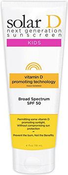 Solar D Sunscreen Kids SPF50 4oz Tube