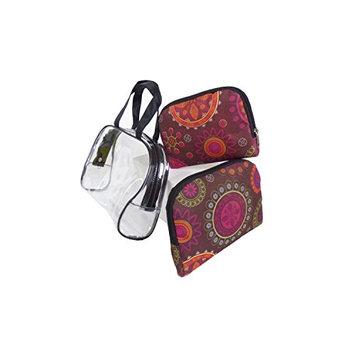 Argo Sport Flower Power Cosmetic Bags