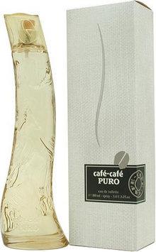 Cafe Cafe Puro By Cofinluxe For Women. Eau De Toilette Spray 3.4 Ounces