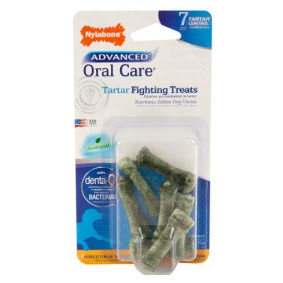 Nylabone Advanced Oral Care Tartar Fighting Dog Treat