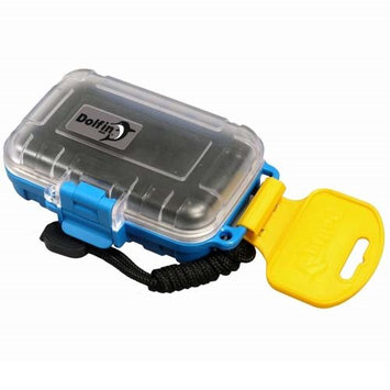Promaster Dolfin Box 5010 Waterproof Hard Case, Blue and Clear