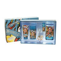 Christian Audigier Hardy Hearts and Daggers 5 Piece Gift Set for Men