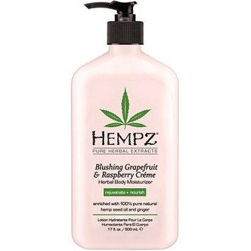 Hempz Blushing Grapefruit & Raspberry Creme Herbal Body Moisturizer - 17 fl oz.