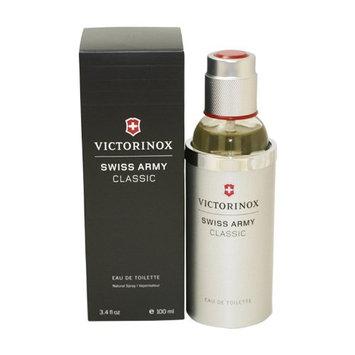 Victorinox Swiss Army Classic Eau de Toilette Spray 3.4 Ounce
