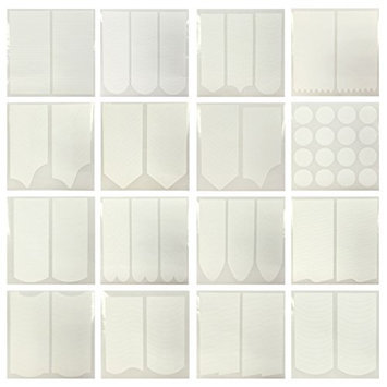 AllyDrew Nail Art Guide Tip Stencil Stickers