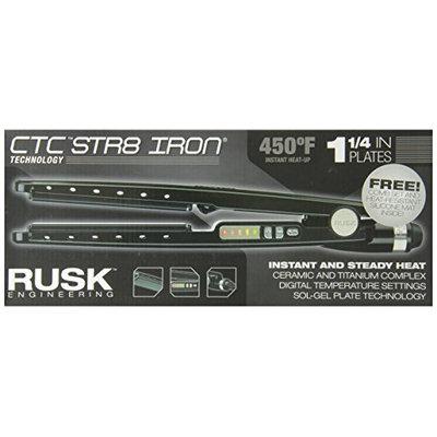 Rusk RSK732 Professional Str8 Titanium-Infused Ceramic Flat Iron