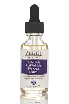 Zebel Skincare - Bio-Peptide Anti-Wrinkle Eye Serum with Aloe Vera and Jojoba oil to on fine lines and wrinkles