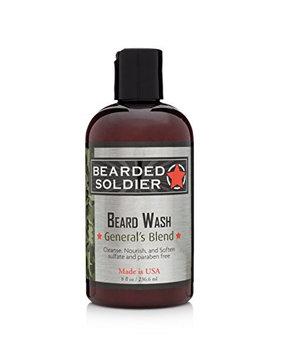Bearded Soldier Beard Wash General's Blend