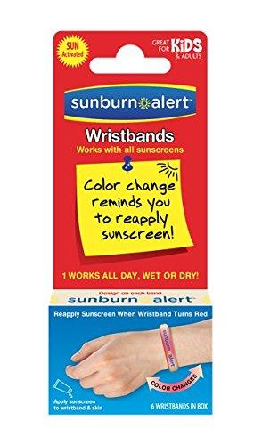 Sunburn Alert Wristbands