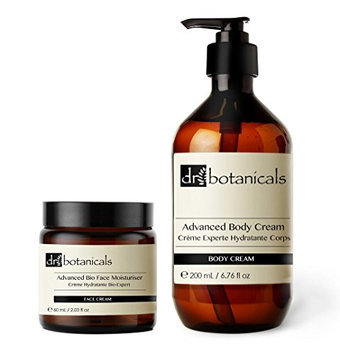 Dr Botanicals Advanced Bio Face Moisturizer Plus Advanced Miracle Body Repair