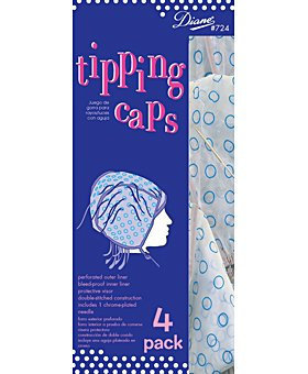Diane Hair Frosting/Tipping Cap with Hook (Pack of 12)