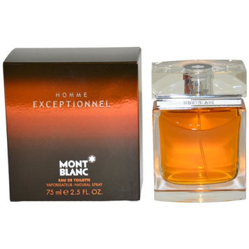 Mont Blanc Exceptionnel by Montblanc  for Men - 2.5 Ounce EDT Spray