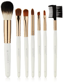 SHANY Cosmetics Urban Gal Collection Brush Kit (7 Piece Pony Bristles Mini Travel Brushes)