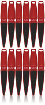For Pro Red Pedi Paddle Foot File 80/120 Grit