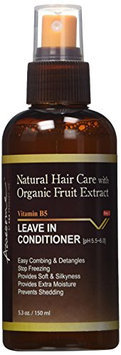 Awesome Natural Hair Care with Organic Fruit Extract Vitamin B5 - Leave In Conditioner