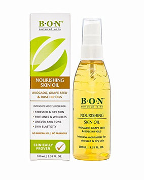 B.O.N Skincare Nourishing Skin Oil All Natural Toning Blend To Help Reduce Stretch Marks During Pregnancy Spray Bottle
