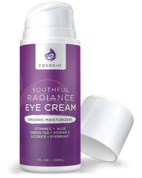 Foxbrim Youthful Radiance Eye Cream for Dark Circles & Puffiness