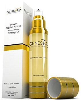 Genesea Jojoba Serum Enriched with Dead Sea Minerals & an Exclusive Blend of Oils - A Source of Powerful Antioxidants