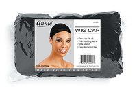 Annie Wig Cap Black