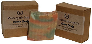 Waterpark Soap Cotton Candy Vegan Soap