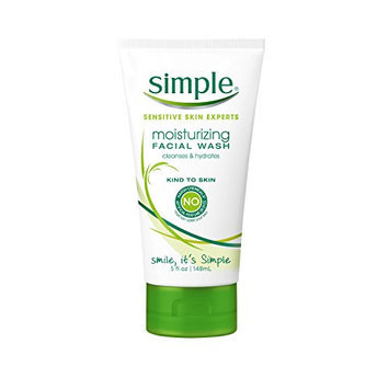 Simple Moisturizing Face Wash 5 oz