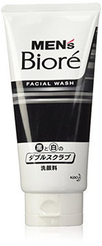 Bioré MENS Kao Double Scrub Face Wash