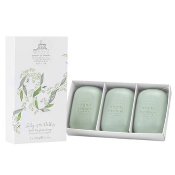 Woods of Windsor Lily of The Valley Fine English Soap for Women