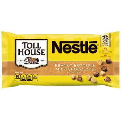 Nestlé® Toll House® Peanut Butter & Milk Chocolate Morsels