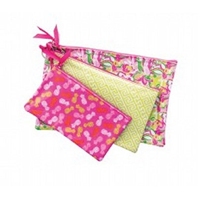Danielle Enterprises Collection 3 Piece Cosmetic Bag Set