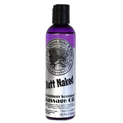Black Canyon Massage Oil 4 Oz (Butt Naked)