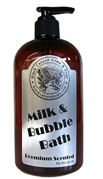 Black Canyon Bubble & Milk Bath 16 Oz (Banana Taffy)