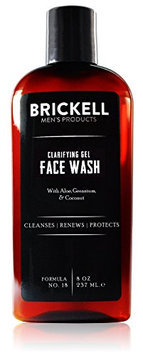 Brickell Men's Products Clarifying Gel Face Wash