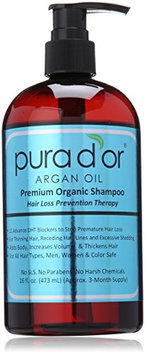 Pura d'or Hair Loss Prevention Premium Organic Shampoo