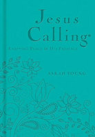 Nelson - Nelson Books 12771X Jesus Calling Deluxe Teal Leathersoft Apr