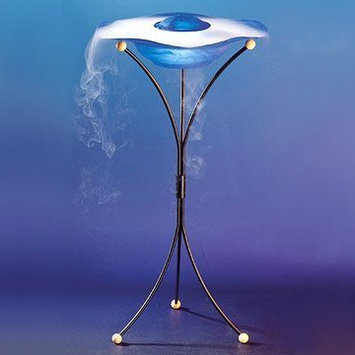 Canary Products Floor Mist Fountain/Aroma Diffuser with Inline and Remote Control