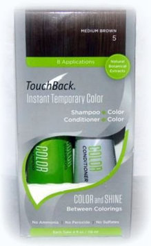 TouchBack Shampoo & Conditioner Set - Medium Brown