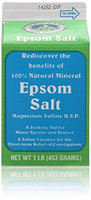 White Mountain Epsom Salt Container