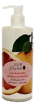 100% Pure Yuzu and Pomelo Glossing Conditioner