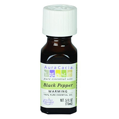 Aura Cacia Black Pepper Essential Oil
