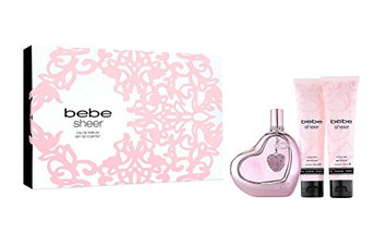Bebe Sheer 3 Piece Gift Set for Women