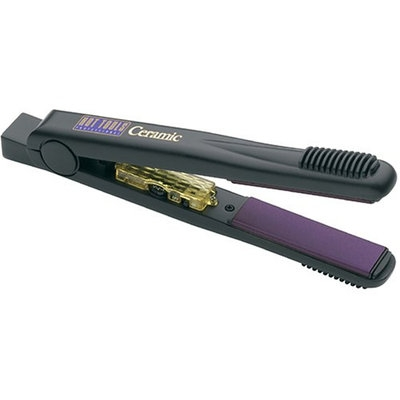 Hot Tools Professional 1188 Ceramic+Titanium 1 Inch Wide Flat Iron with Gentle Far-Infrared Heat