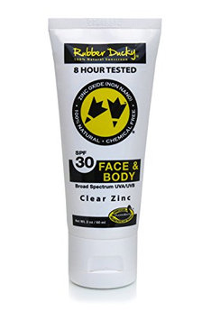 Rubber Ducky All-Natural SPF 30 2 oz. Face and Body Sunscreen Tube Untinted