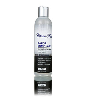 Clear Fast Razor Bump Liquid for Men