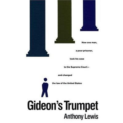 Gideon's Trumpet, by Lewis, Grades 9-12