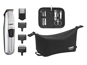 Conair Deluxe Beard and Mustache Trimmer Grooming System Gift Set