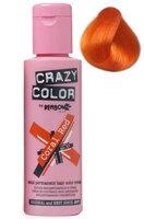 Crazy Color Semi Permanent Hair Color Cream Coral Red No.57 100ml