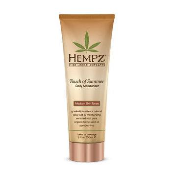 Supre Hempz Touch of Summer Moisturizer for Medium Skin Tones